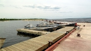 Hecla government dock.